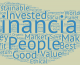 Sharing: Good-with-money.com's word cloud