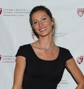 NEW YORK, NY - MAY 06: Model Gisele Bundchen attends the 2011 Global Environment Citizen Awards honoring Gisele Bundchen at The Harvard Club on May 6, 2011 in New York City. (Photo by Jason Kempin/Getty Images)