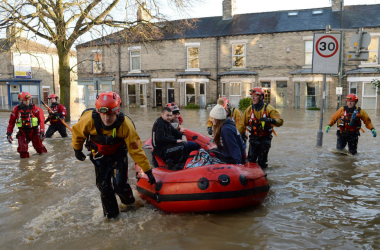 Floods a 'watershed moment' for UK's climate change attitudes