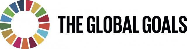 The UN sustainable development goals logo