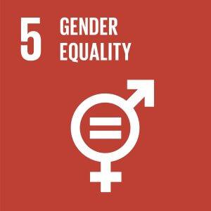 SDG global goal 5 gender equality